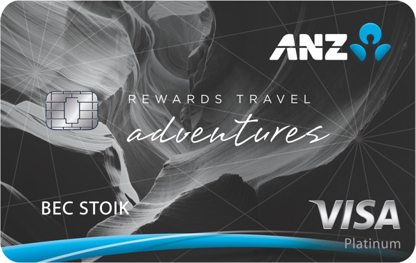 ANZ Rewards Travel Adventures Card