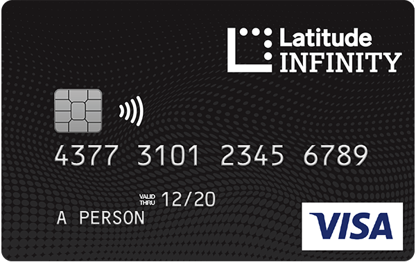 Latitude Financial Services Latitude Infinity Rewards Visa