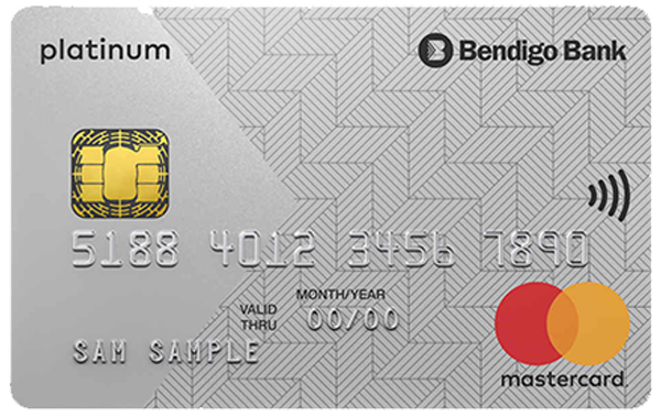 Bendigo Bank Low Rate Platinum Mastercard