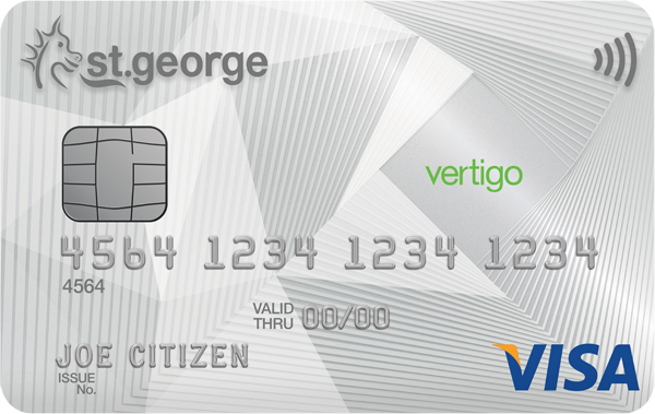 St.George Bank Vertigo Visa