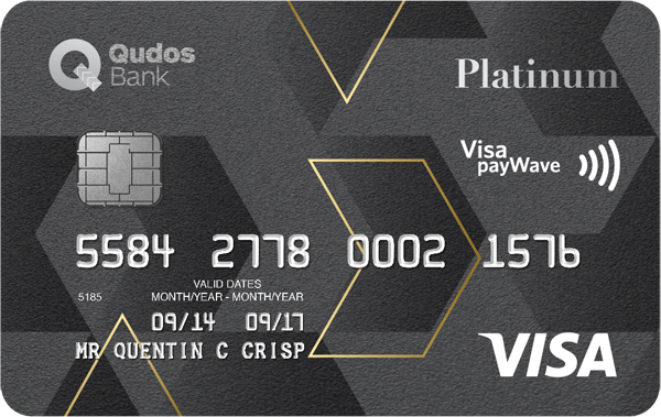 Qudos Bank Visa Platinum Credit Card