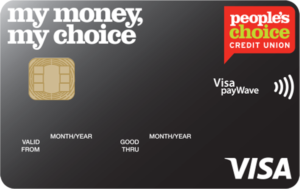 People's Choice Credit Union Visa Credit Card