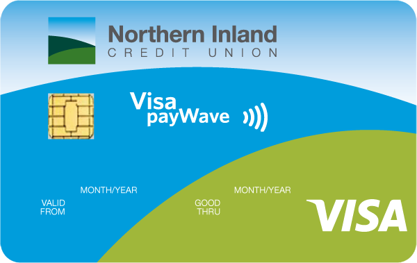 Northern Inland CU Visa Classic Credit Card