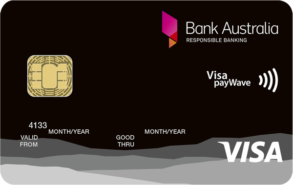Bank Australia Low Rate Visa Credit Card