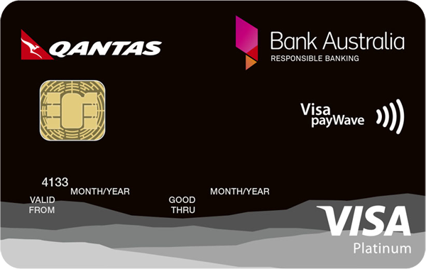 Bank Australia Platinum Rewards Visa Credit Card