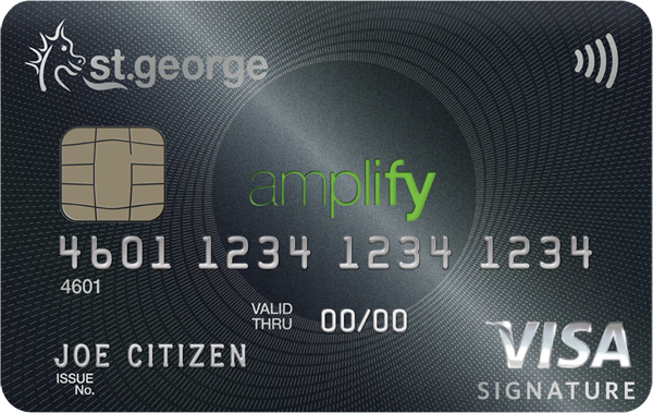 St.George Bank Amplify Signature (Amplify Qantas)