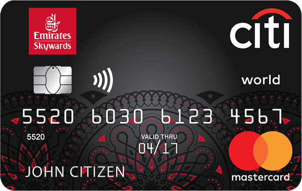 Citi Emirates World Mastercard