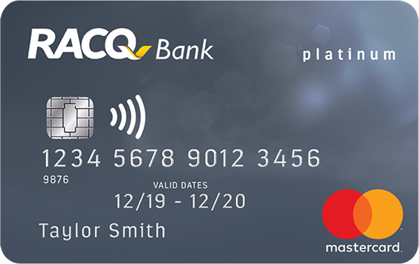 RACQ Bank Platinum Rewards Credit Card