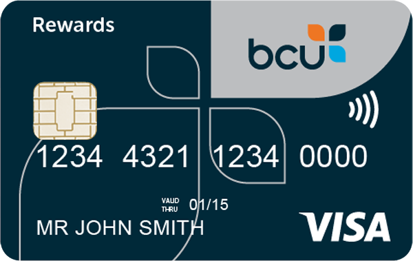 bcu Rewards Visa Card