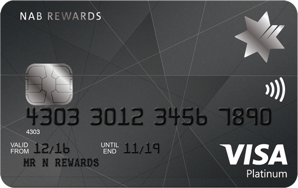 NAB Rewards Platinum Card