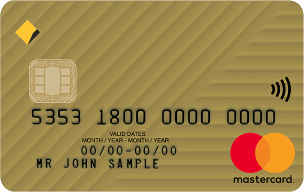 Commonwealth Bank Low Rate Gold Mastercard