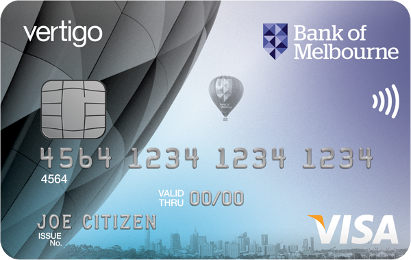 Bank of Melbourne Vertigo Visa