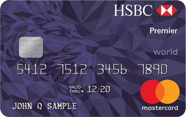 HSBC Premier World Mastercard (Rewards Plus)
