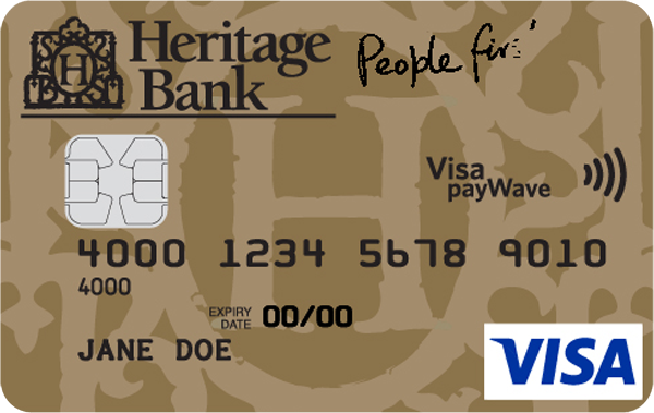 Heritage Bank Gold Low Rate