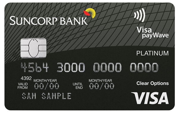 Suncorp Bank Platinum Card (Qantas Rewards)