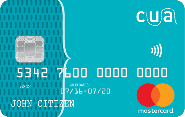 CUA Low Rate Credit Card