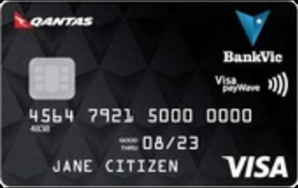 BankVic Qantas Visa Credit Card