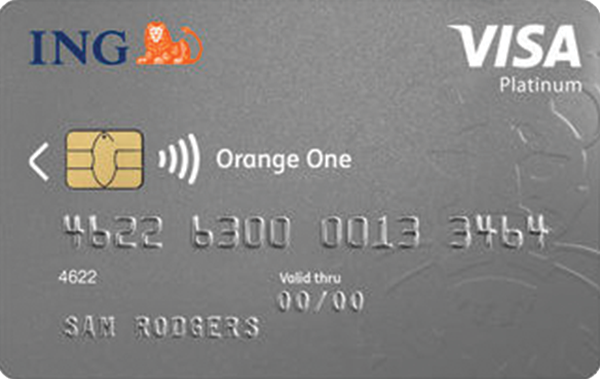 ING Orange One Rewards Platinum