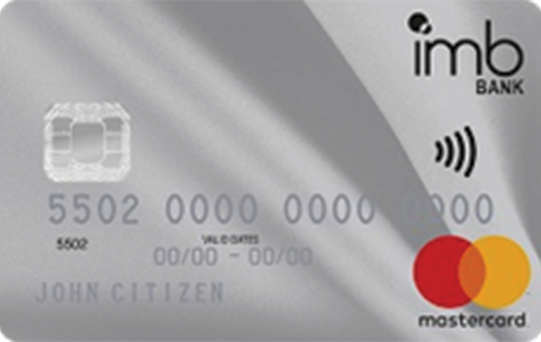 IMB Bank Low Rate Mastercard