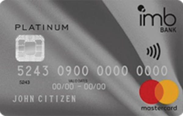IMB Bank Platinum Rewards Mastercard