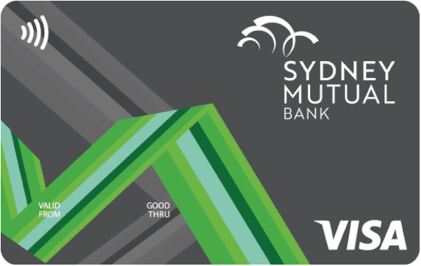 Sydney Mutual Bank Low Rate Visa Credit Card