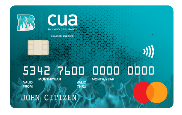 CUA Brisbane Heat supporters' Low Rate Credit Card